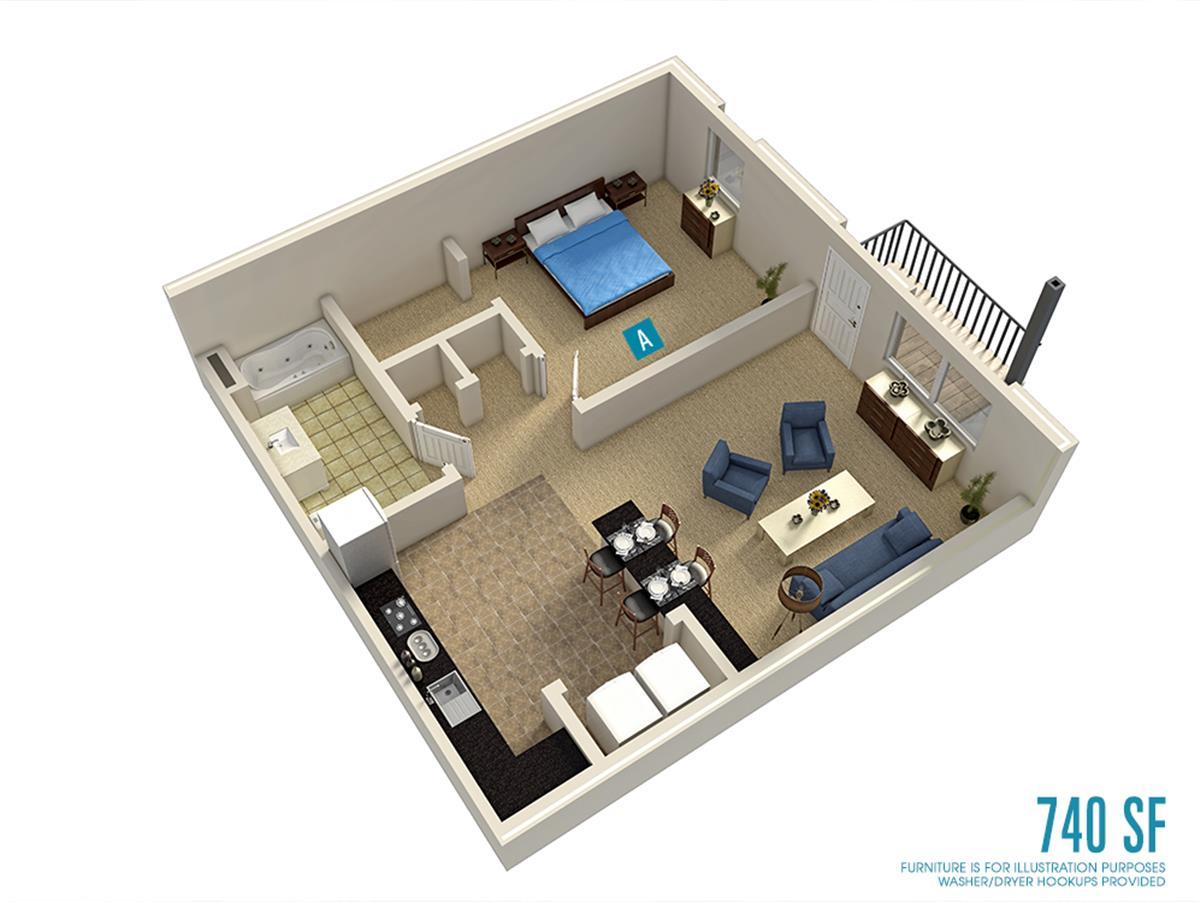 Campus Evolution Villages Apartment In Tuscaloosa Al