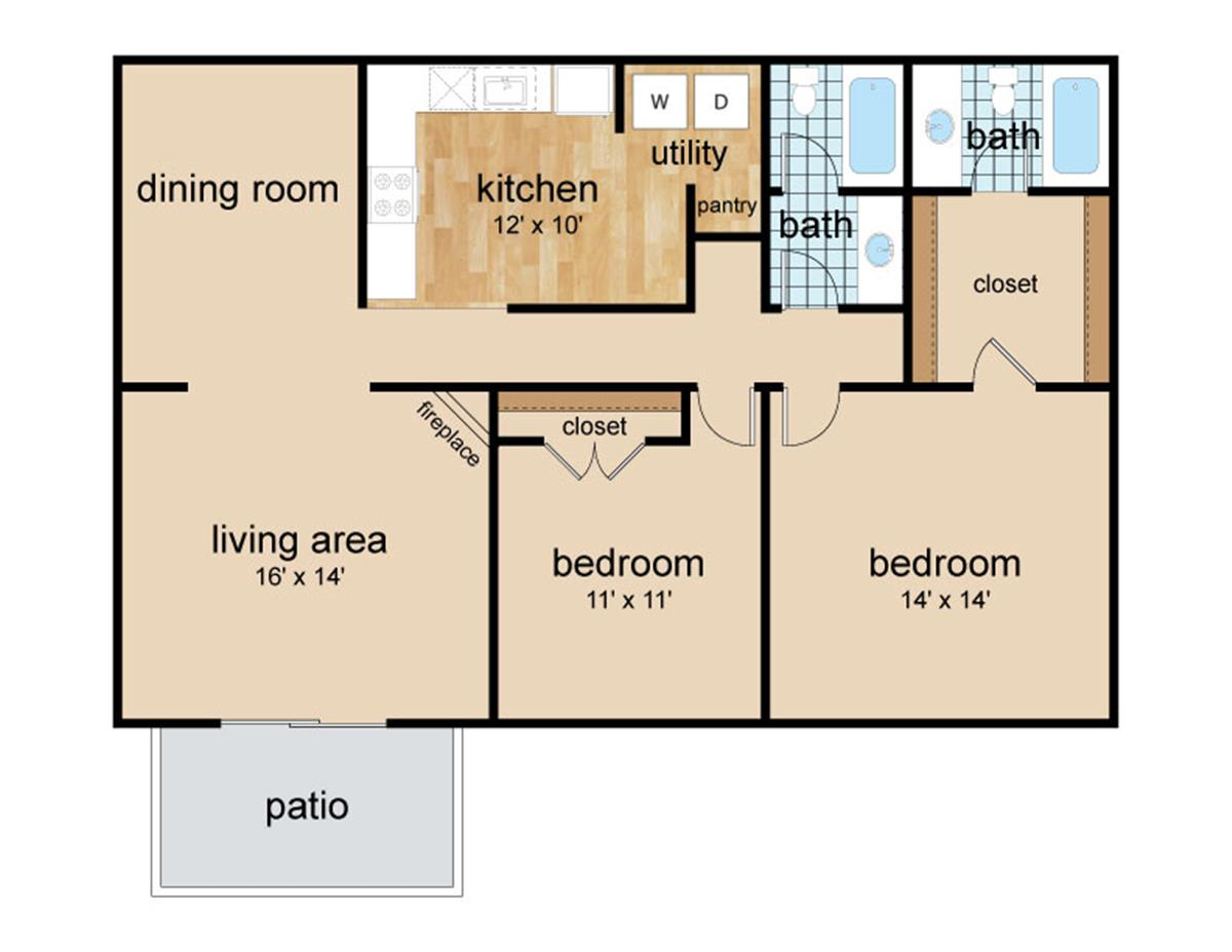 High River Apartment Homes Apartment In Tuscaloosa Al
