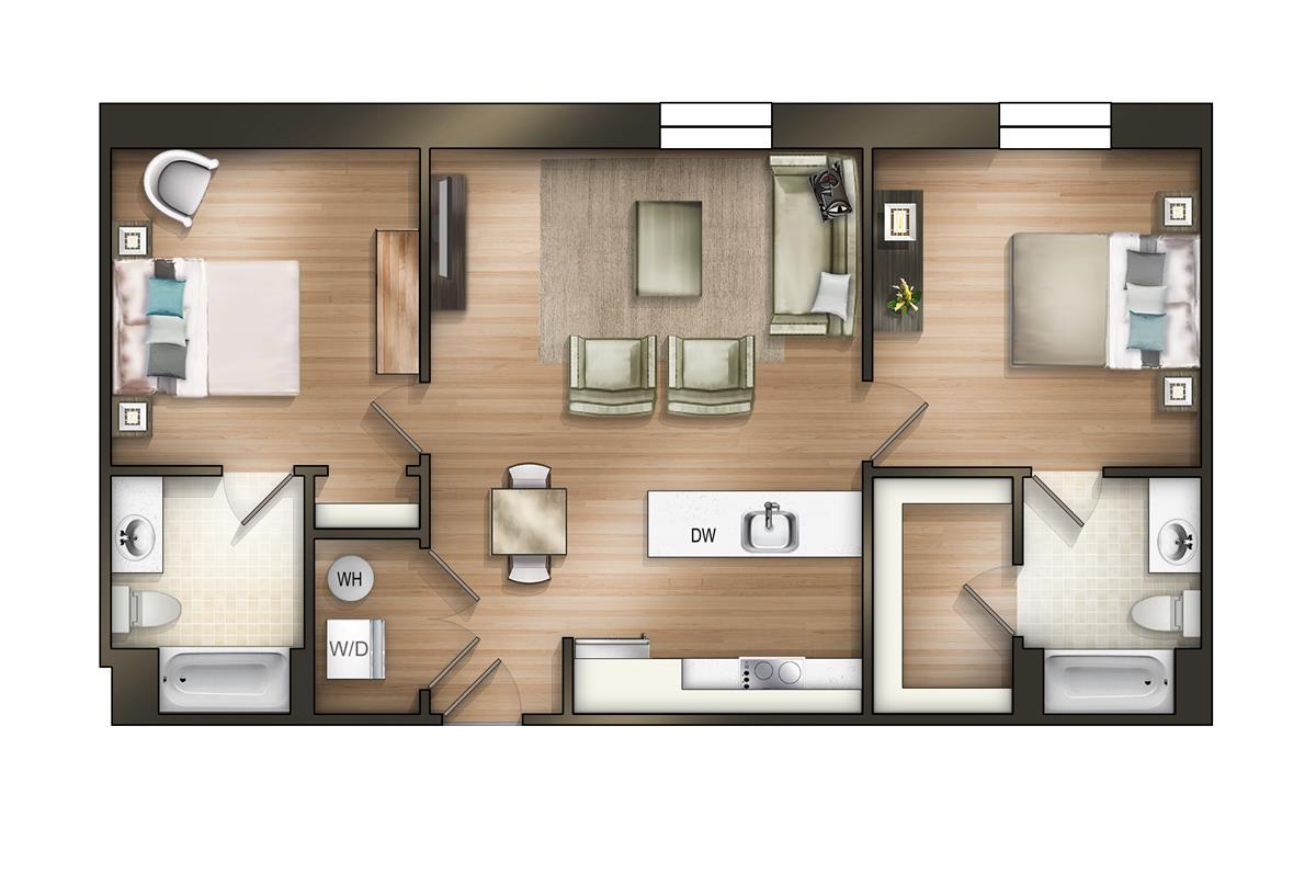 100 Boulevard Central Tower 1 Floor Plan Smart  : The Tower Luxury Apartmentsn5lx5joayxy from 45.76.23.192 size 1200 x 797 jpeg 90kB