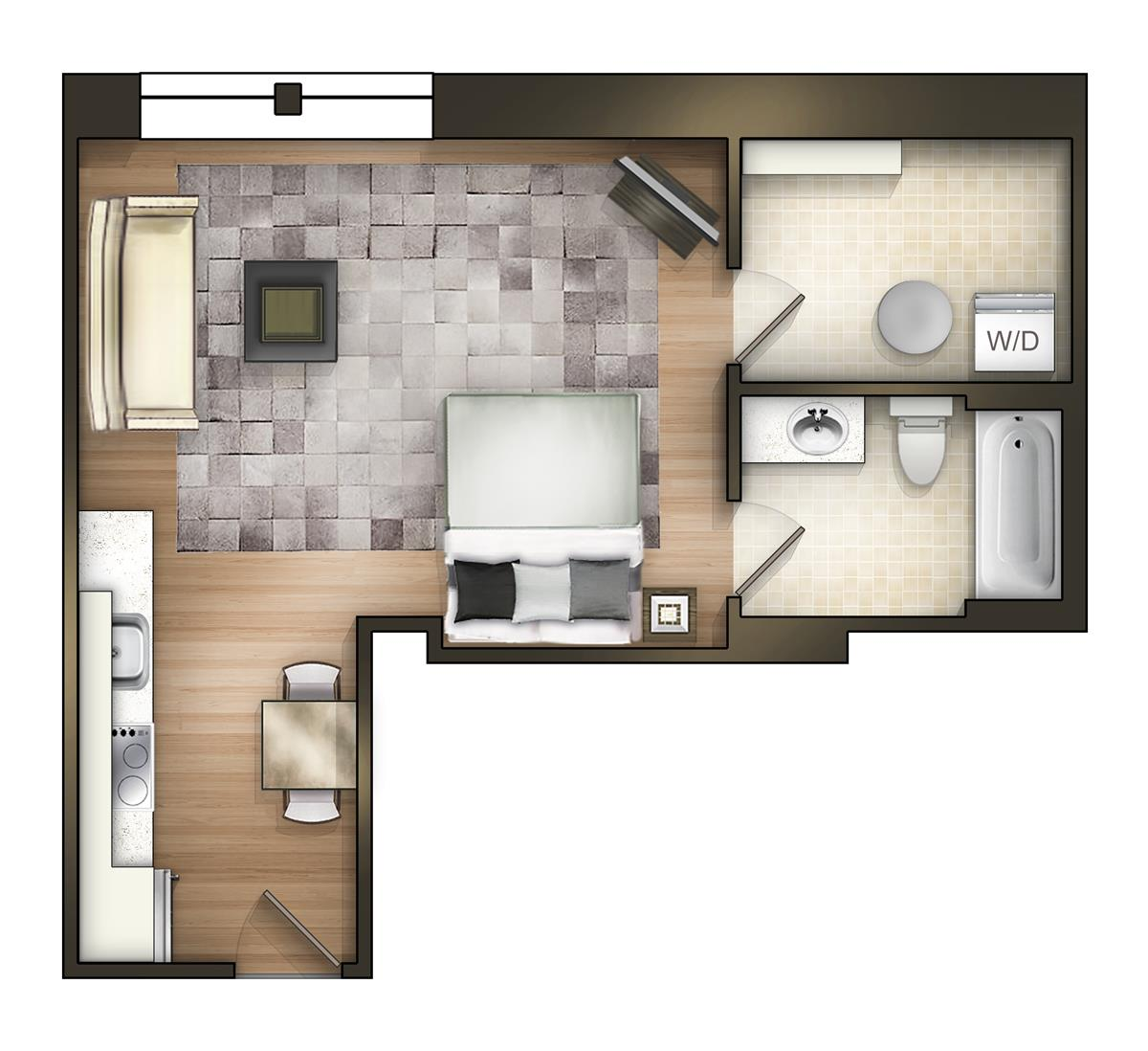 The tower luxury apartments apartment in tuscaloosa al - One bedroom apartments in tuscaloosa ...